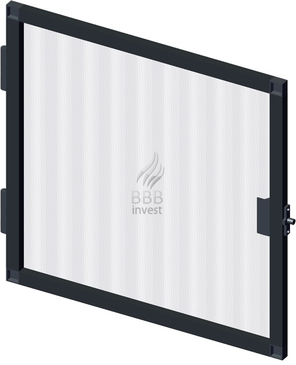 B'SMART Fixed or Swing Insects Screen - Ral 7016