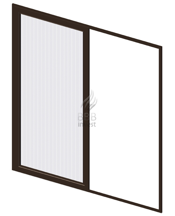 Sliding Insects Screens - Ral 8014