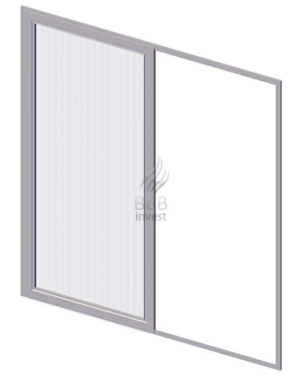 Sliding Insects Screens - Ral 9010