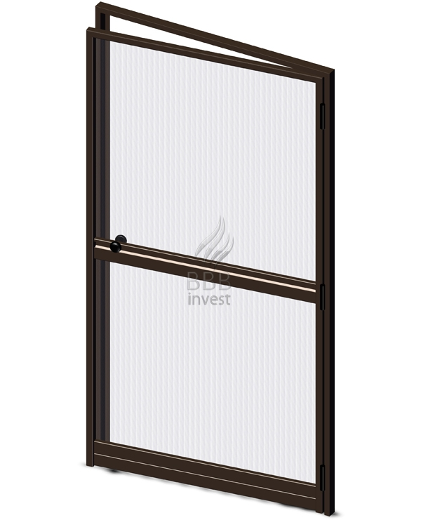 Swing Insects Screens with their own framework - Ral 8014