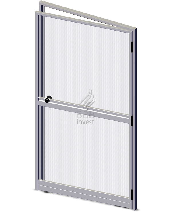 Swing Insects Screens with their own framework - Ral 9010